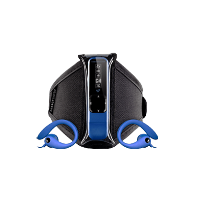 Mp3 Active 2 Neon Blue