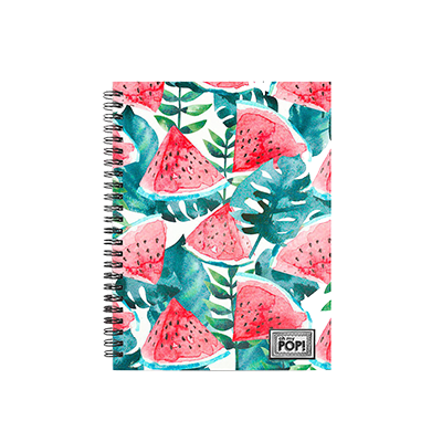 "Caderno ""Oh My Pop!"""